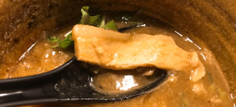 つけ麺えん寺のチャーシュー肉