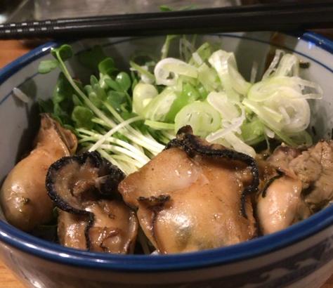 佐市の牡蠣飯
