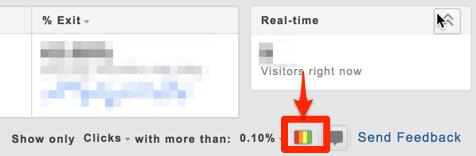 PageAnalyticsでヒートマップの表示をONにする