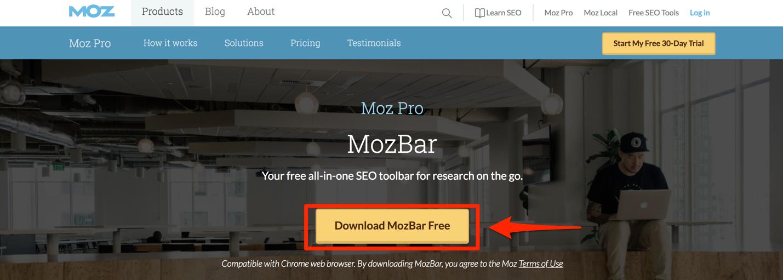 MozBarの導入方法