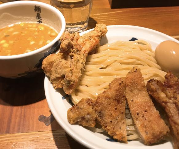 麺屋武蔵二天のつけ麺が登場
